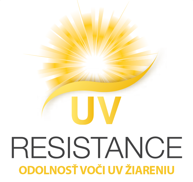 Vysoká odolnosť voči UV žiareniu