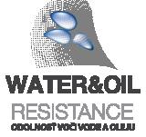 Vysoká odolnosť voči vode a oleju